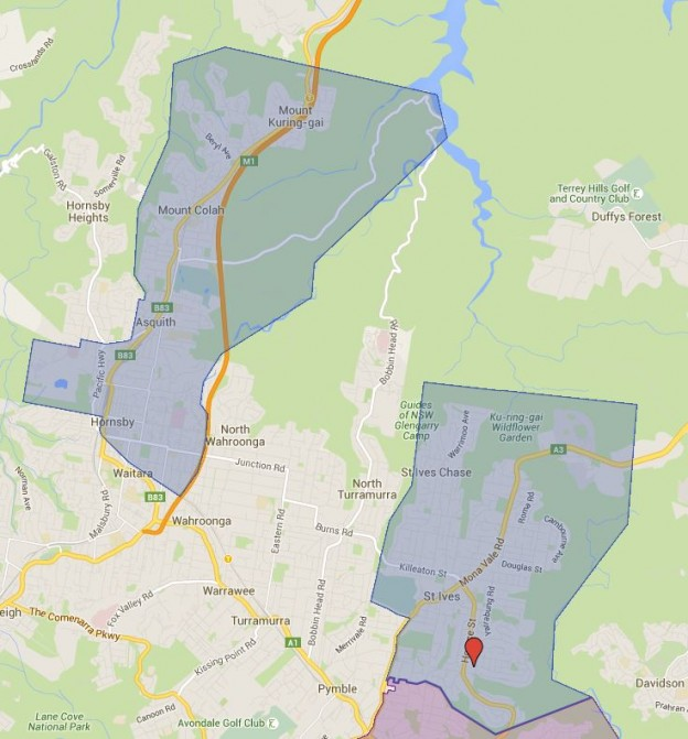 St Ives High School Catchment Map Added