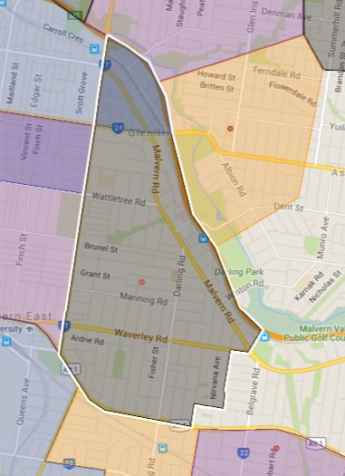 Lloyd Street Primary School Zone Catchment Map