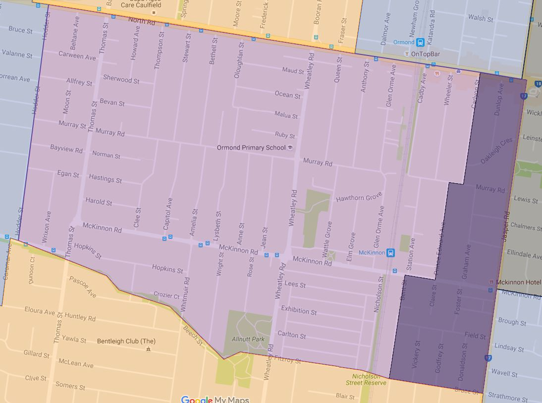 ormond-primary-school-zone-map