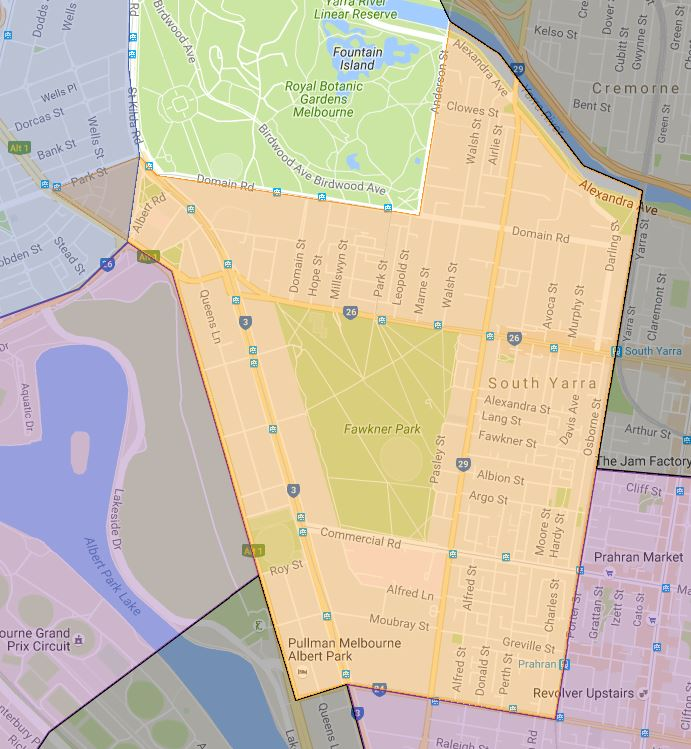 south-yarra-primary-school-zone-map