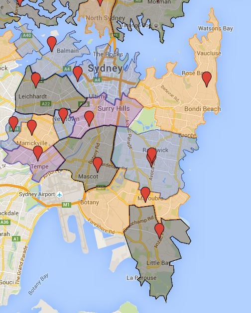 Fourteen High School Catchment Added to the Map